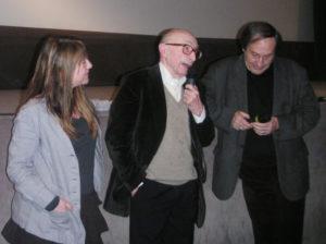 Karine de Villers, Luc de Heusch et Marc Piault - Festival Jean Rouch 2008